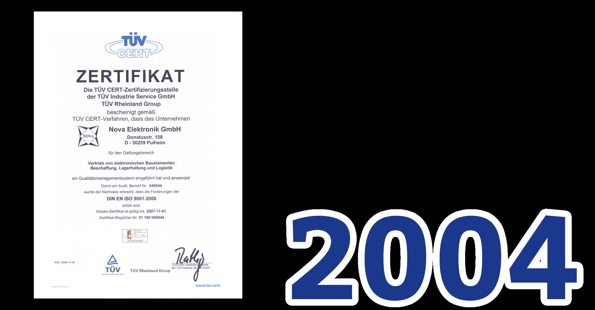NOVA Elektronik 2004